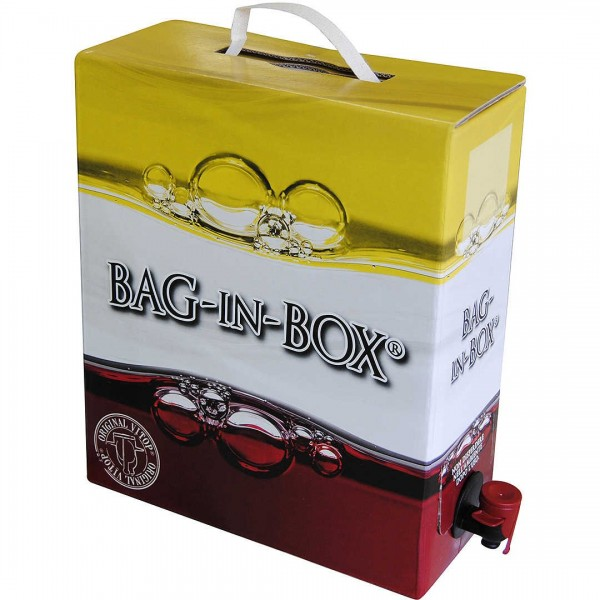 Bag box 5 lt + vino merlot